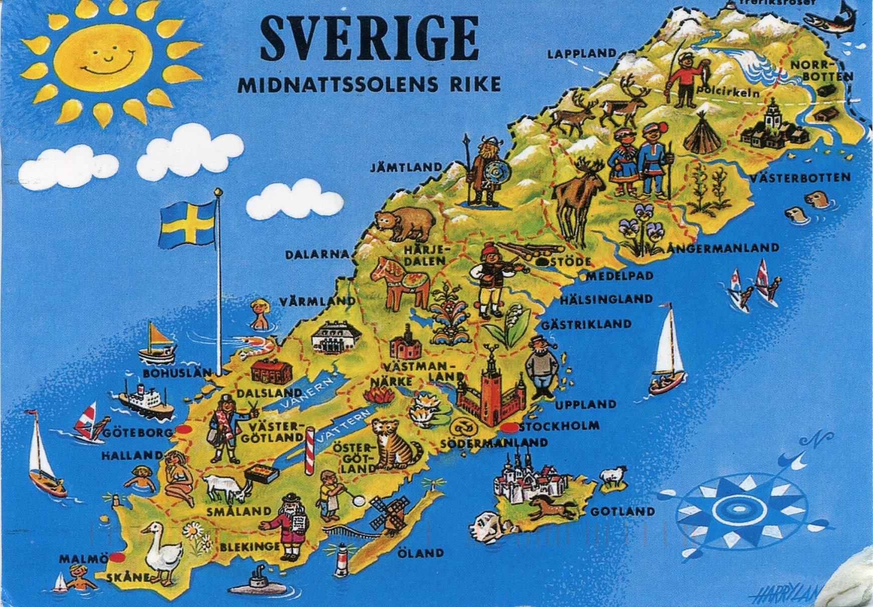 Attractions list | 1000 Places to visit in Sweden